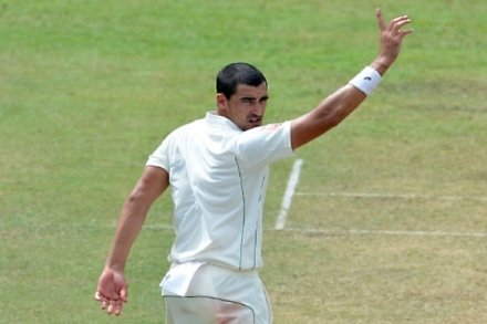 Starc pleased to be playing on pacey deck