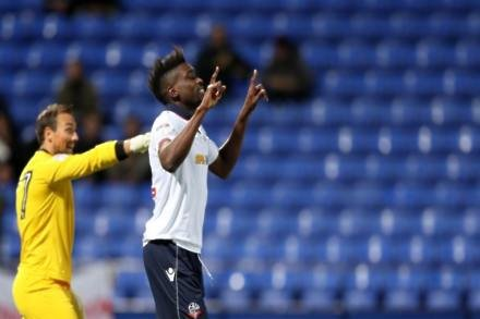 Sammy Ameobi fires Bolton to victory and out of bottom three