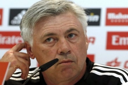 Ancelotti happy with current squad