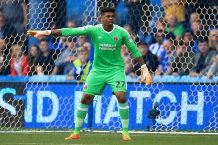 Jamal Blackman set to replace Simon Moore in goal for Sheffield United