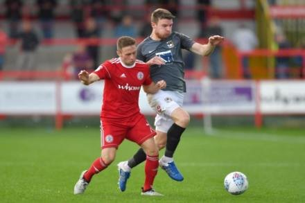 Clark at the double as Accrington sink Coventry