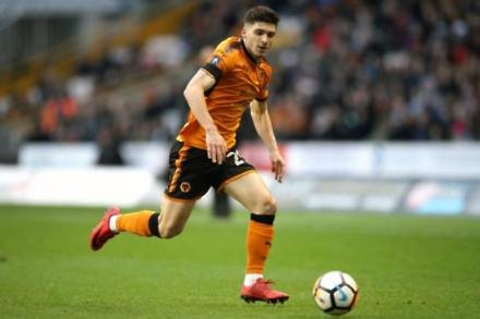 Wolves defender Ruben Vinagre suspended for Forest clash
