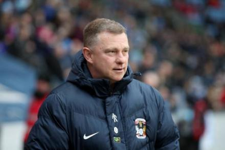 Mark Robins knows Coventry are playing catch up after Accrington defeat