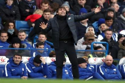 Conte hits out at media