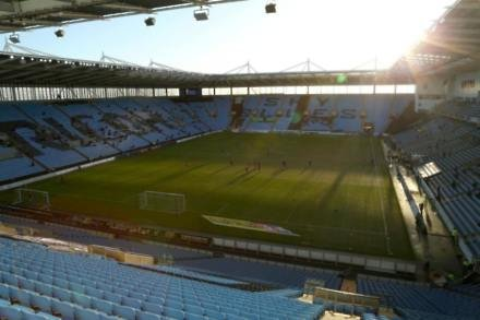 Coventry agree deal to stay at Ricoh Arena until 2019