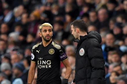 Mahrez back with a smile says Puel