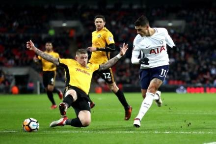 Tottenham cruise past Newport in replay