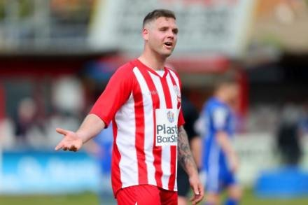Accrington up to third after beating 10-man Swindon
