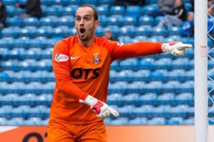 Jamie MacDonald signs two-year contract extension at Kilmarnock