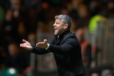 Stephen Robinson challenges Motherwell to make amends in Scottish Cup derby
