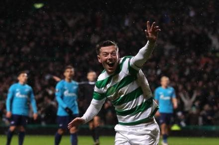 Callum McGregor fires Celtic to Europa League victory over Zenit St Petersburg