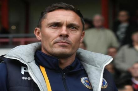 Paul Hurst remains grounded after Shrewsbury return to League One summit
