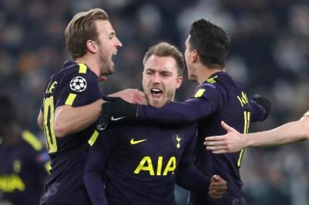 Tottenham bounce back from horror start to clinch draw at Juventus