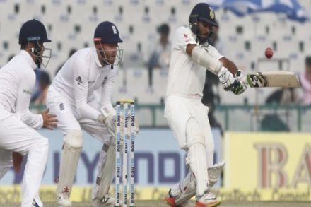 India rout England in Mohali