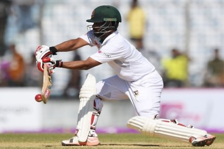 Sturdy Tamim gives Bangladesh the edge