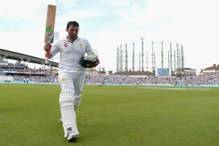 Double ton Younis gets top five place back