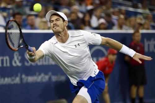 Murray back with a win