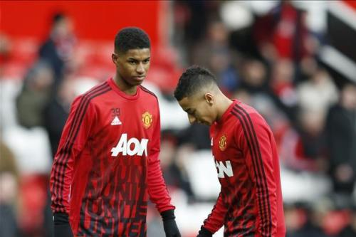 Young United duo in Southgate's squad