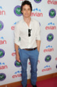 Eddie Redmayne in the evian 'Live young' VIP Lounge
