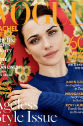 Rachel Weisz covers Vogue