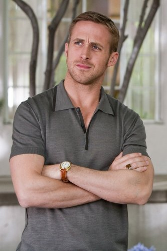 Ryan Gosling knows that a watch can make the outfit