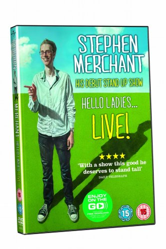 Stephen Merchant: Hello Ladies DVD