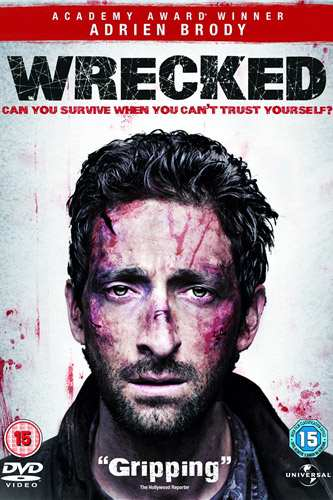 Wrecked DVD Adrien Brody Wrecked