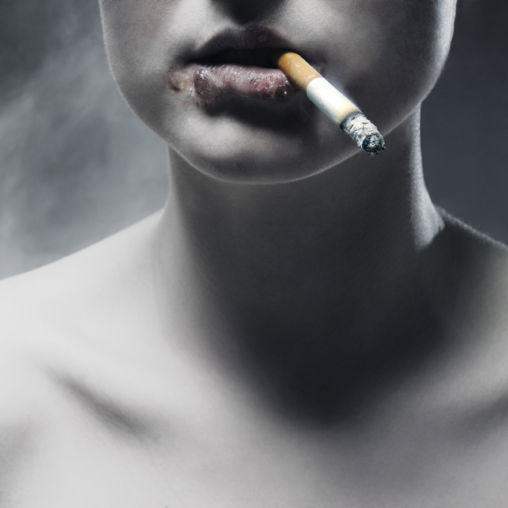 the problem of smoking tabacco in american society