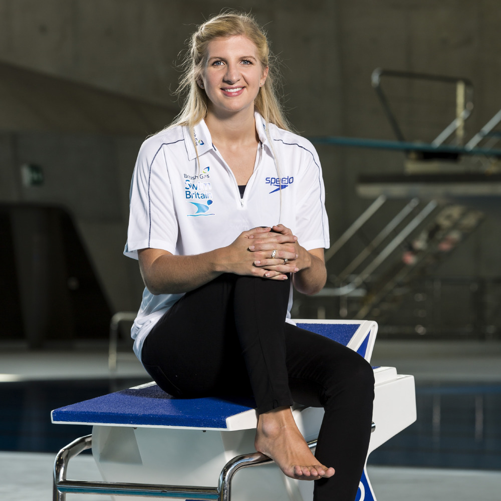Rebecca Adlington has teamed up with Stef Reid for the #TeamMe campaign
