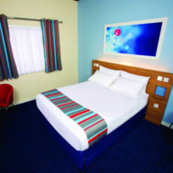 New Travelodge room