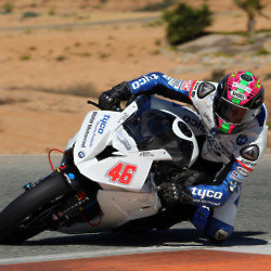 Tyco BMW Tommy Bridewell during testing