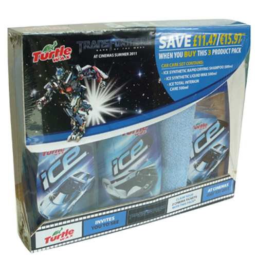 Win Transformers Car Care Pack With Turtle Wax